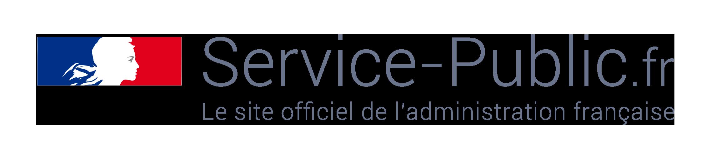 Démarches - Logo service public