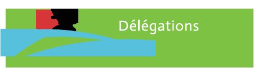 titre délégations