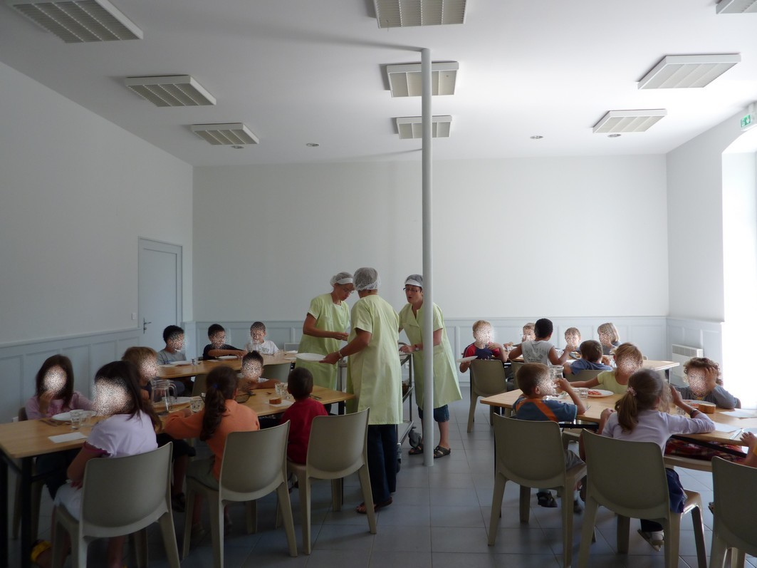 Regroupement scolaire : Cantine