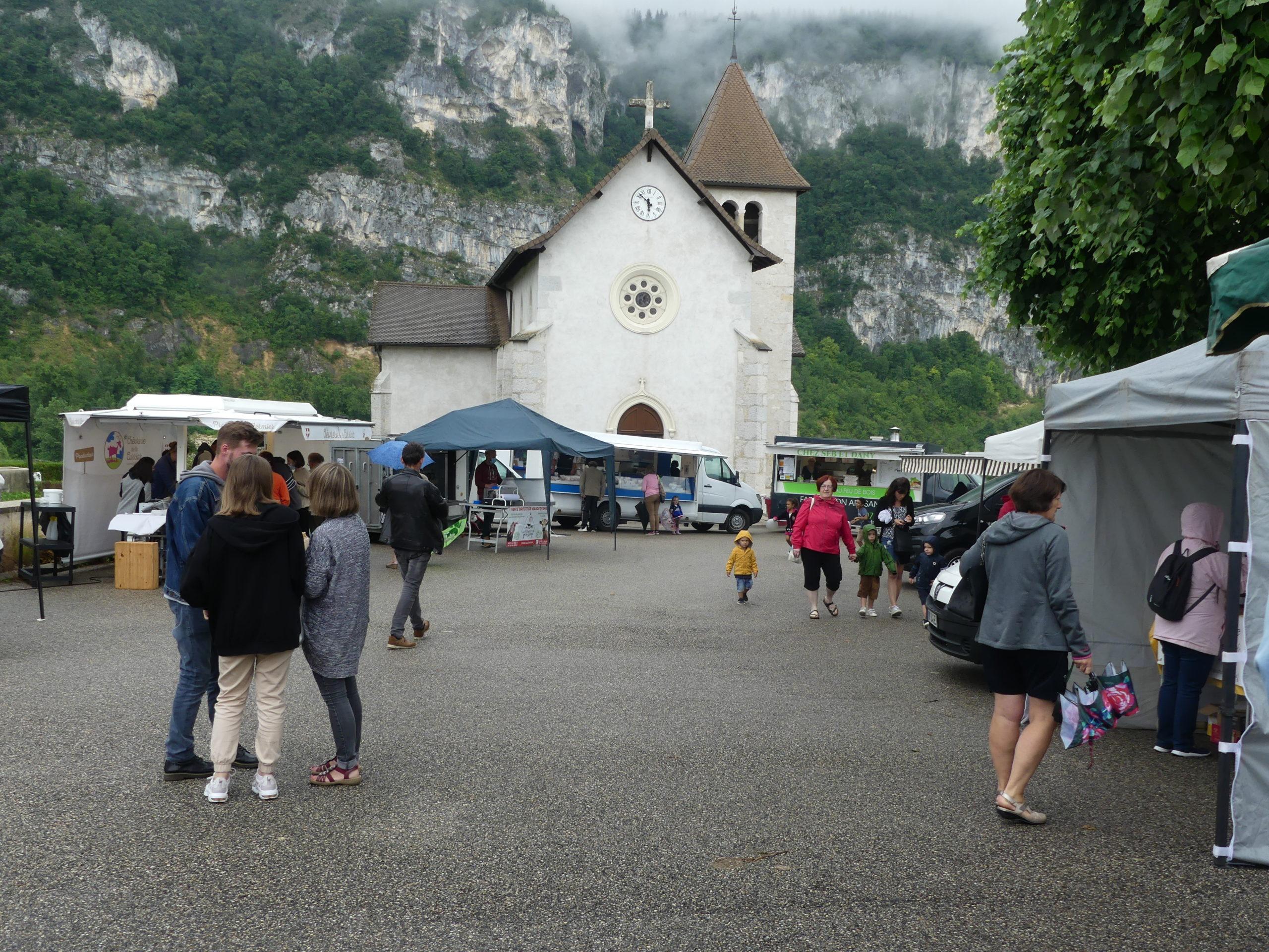 Marché à Rochefort en Savoie